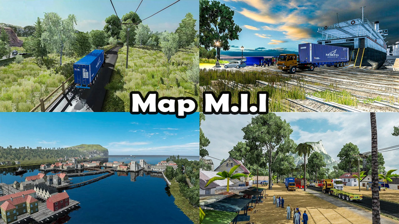 Most Extreme Map Mod of Indonesia - ETS2 1.30 to 1.38
