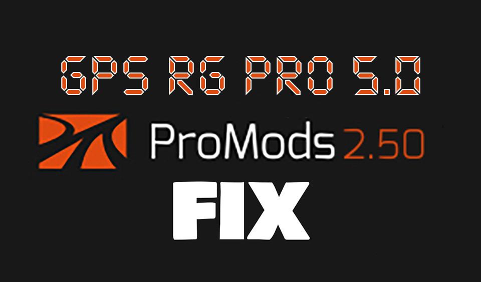 GPS RG PRO 5.0 Promods FIX