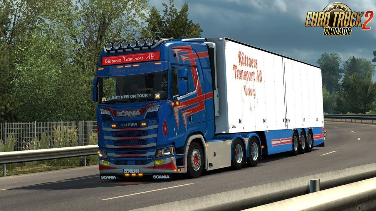Scania L6 Straight Openpipe
