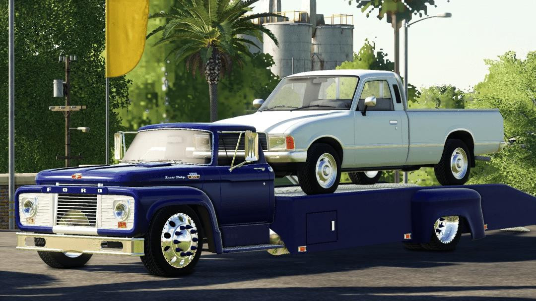 1964 Ford T850 Ramp Truck