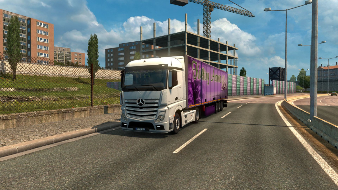 Mercedes Actros MP4 Reworked
