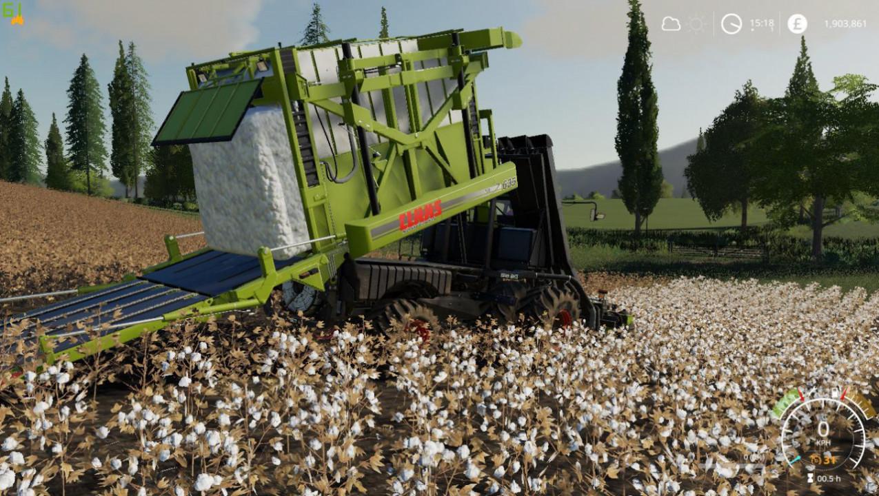 Case Module Express Cotton Harvester