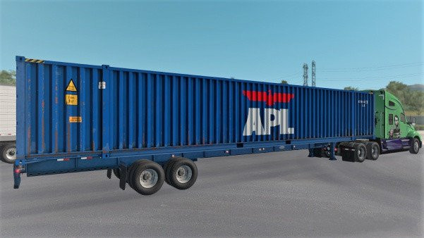 ATS 53ft Container Cargo pack for Owned Gooseneck