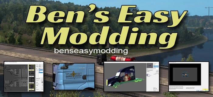Bens Easy Modding - Create own mod + Tools for modders  [1.37 & 1.38]