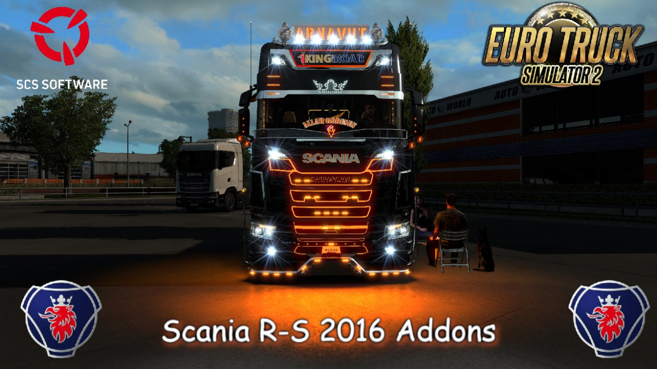 Scania R-S Addons