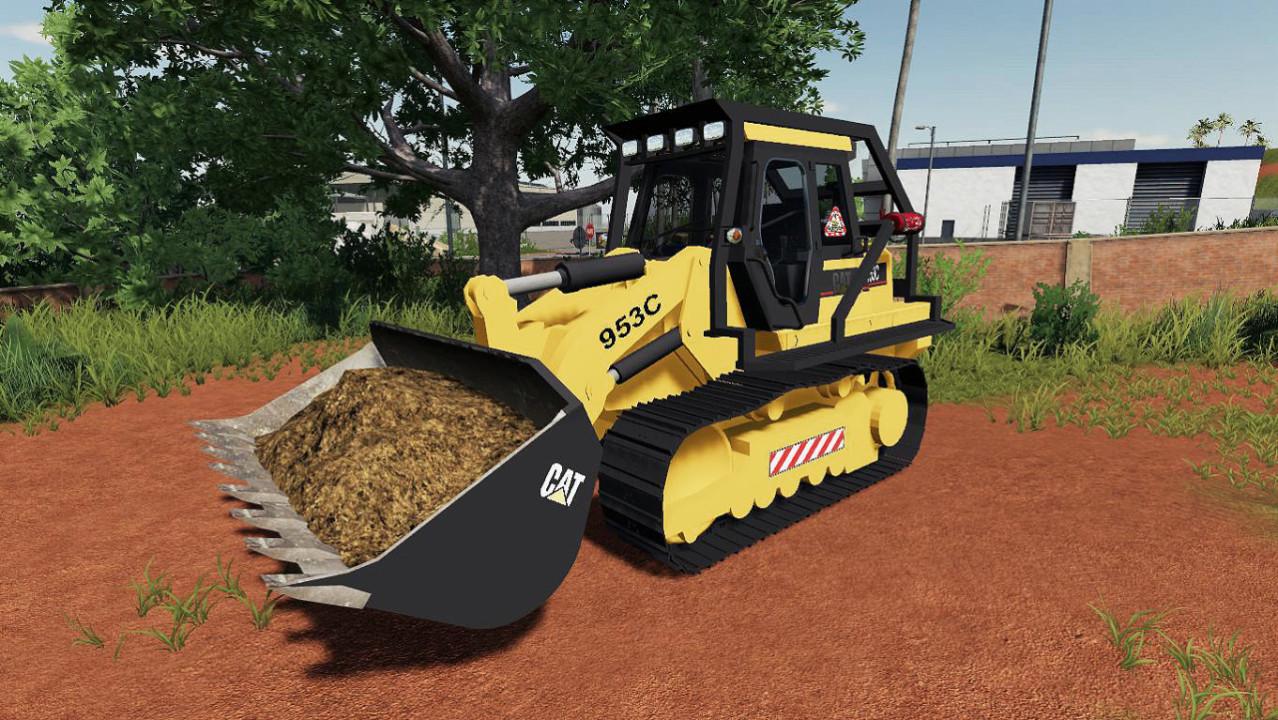 CAT 953C Crawler Loader