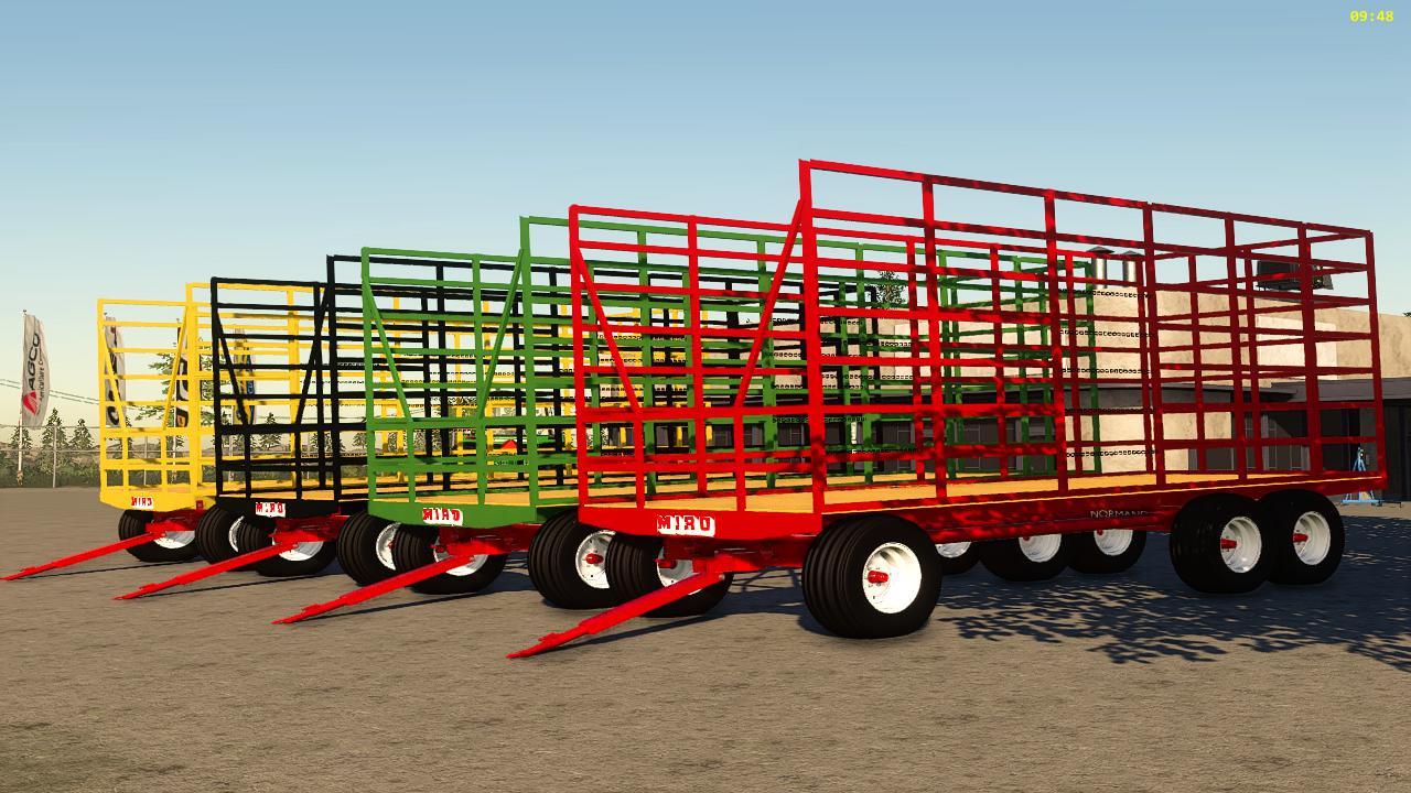 Miro small square bale trailer