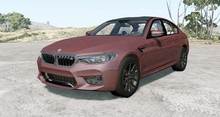 BMW M5 Competition (F90) 2018