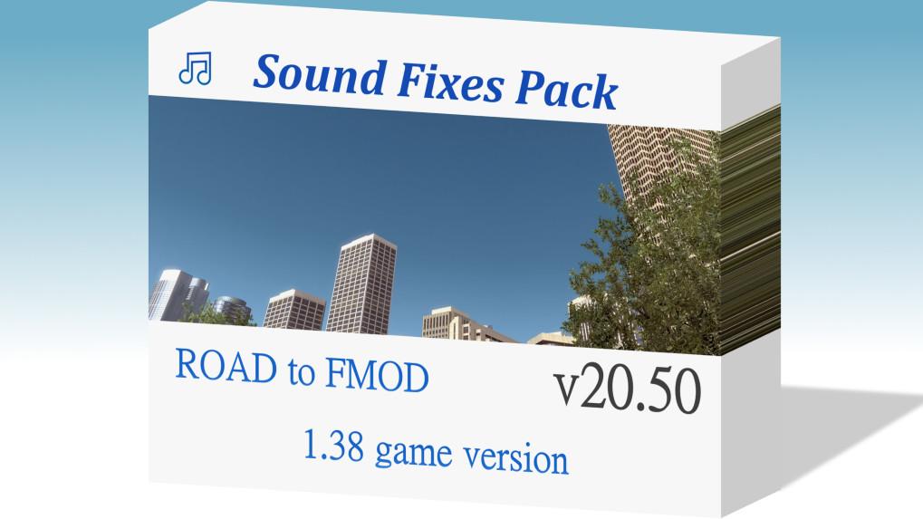 Sound Fixes Pack v20.42  ATS 1.38