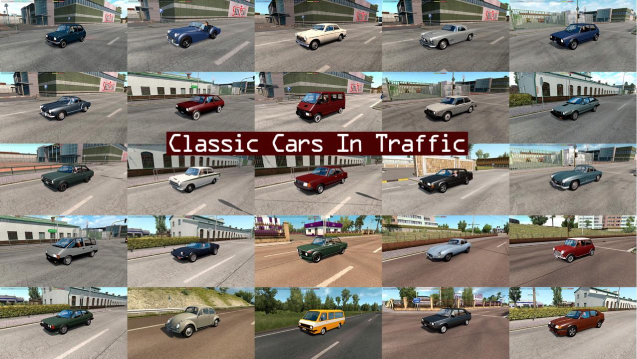 Classic Cars Traffic Pack by TrafficManiac