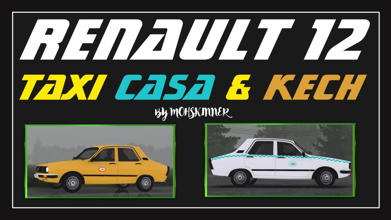 [1.38] MohSkinner - Renault 12 - Taxi Casa & Kech