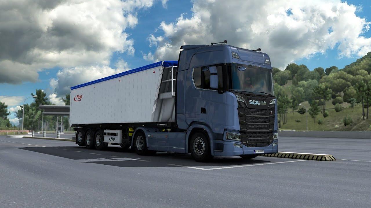 New Scania R & S series V8 stock sound