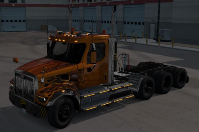 Westernstar 49x cargo truck ats 1.38