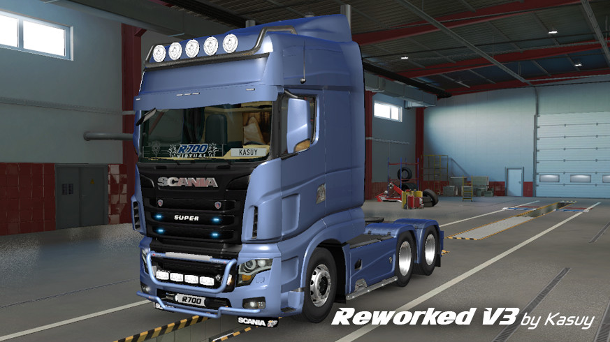 Scania R700 Reworked V3