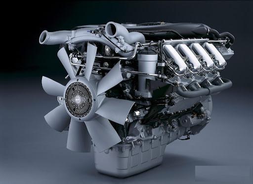 Scania V8 Crackle