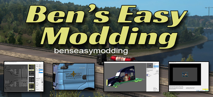 Bens Easy Modding for ETS2&ATS - Create own mod + Tools for modders  [1.37 & 1.38]