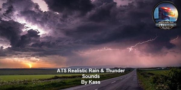 Realistic Rain & Thunder Sounds ATS