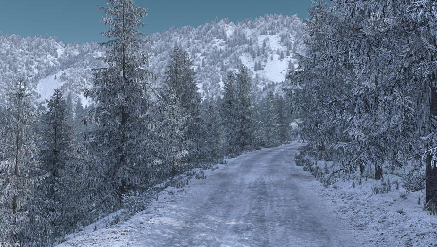 Frosty Winter Weather Mod