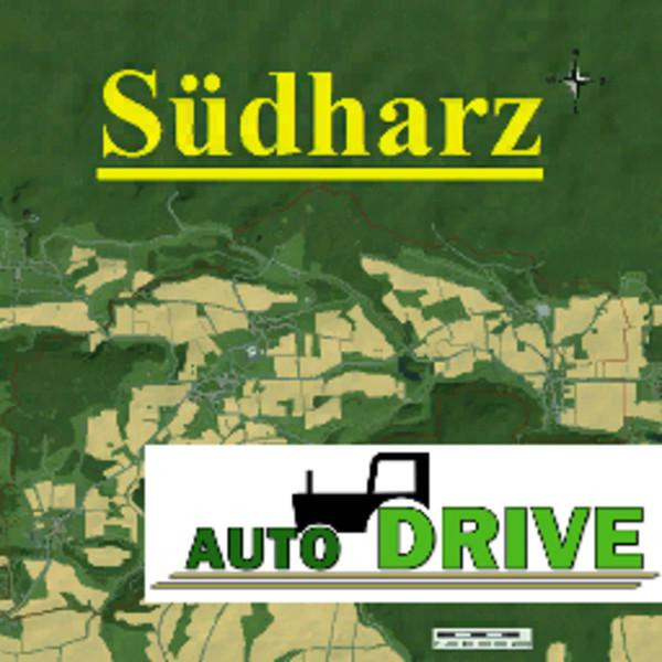 Autodrive courses South Harz Map