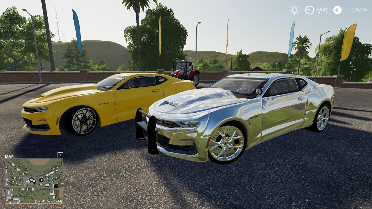Chevy Camaro police