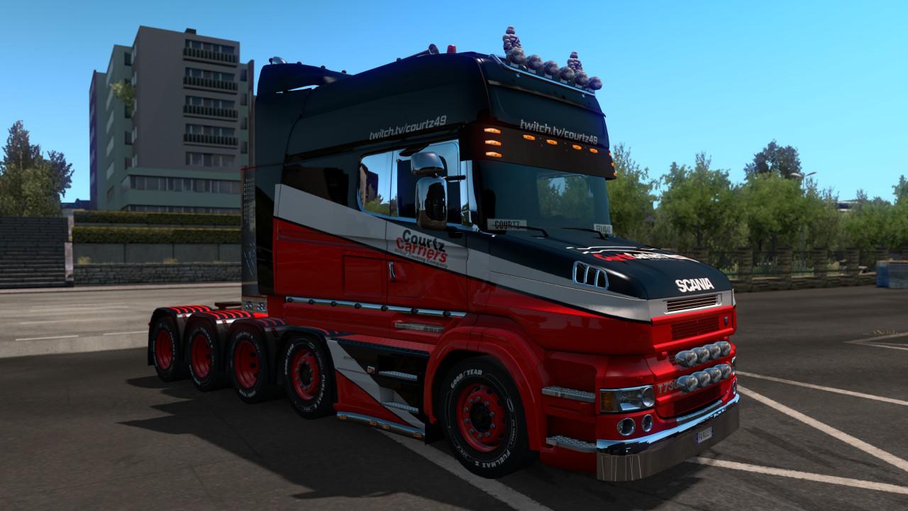 Courtz Carriers Scania T Paint