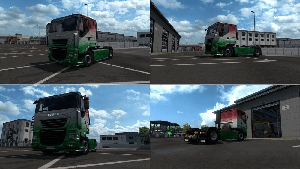 Dafco Stralis V2 [Hybrid Truck] [MP-SP] [Multiplayer] [TruckersMP]