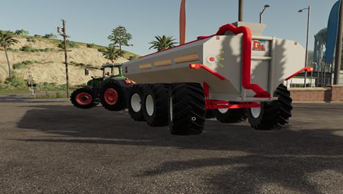DM manure tank
