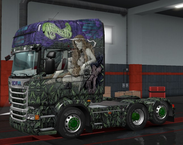 Scania RJL Sativalandscapes