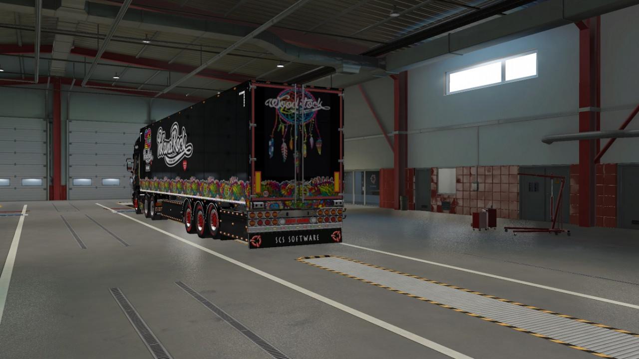 Skin Scania RJL Poland rock festiwal 2020