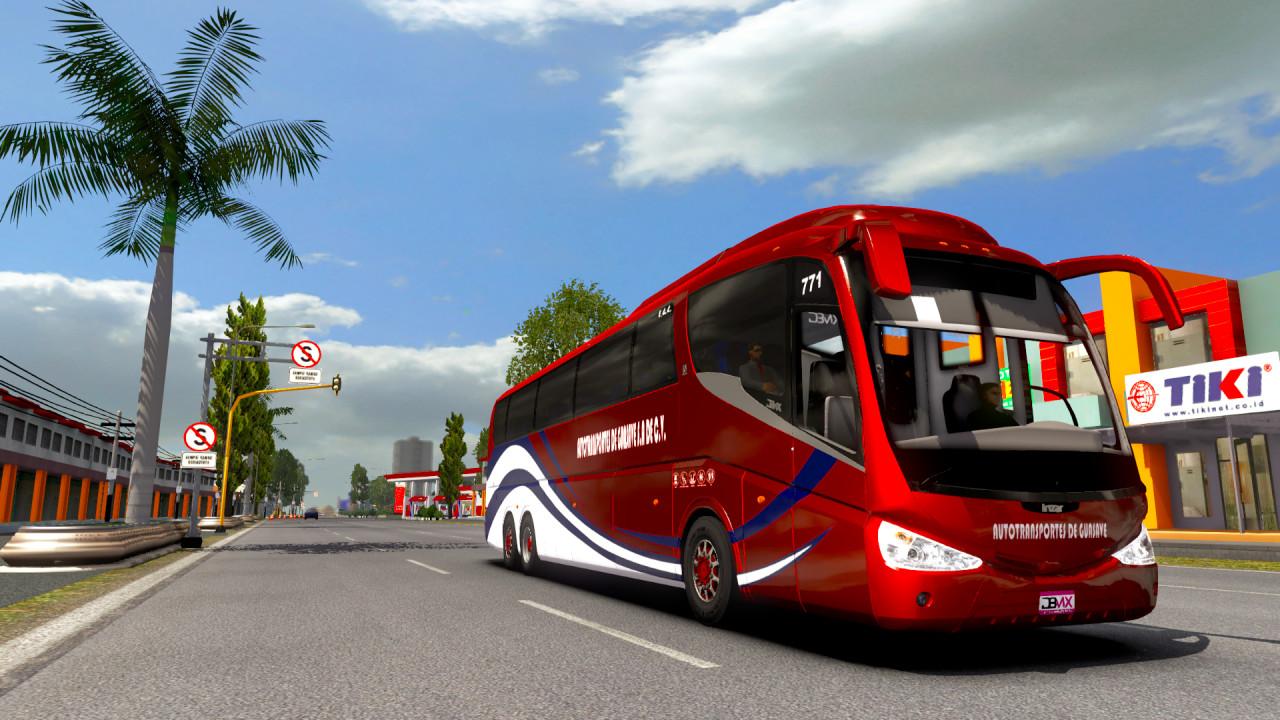 Irizar PB Volvo 6x2 Bus Mod - ETS2 1.38