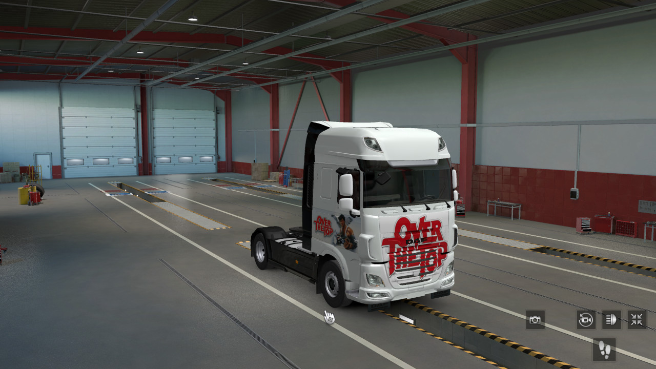 DAF E6 Over The Top