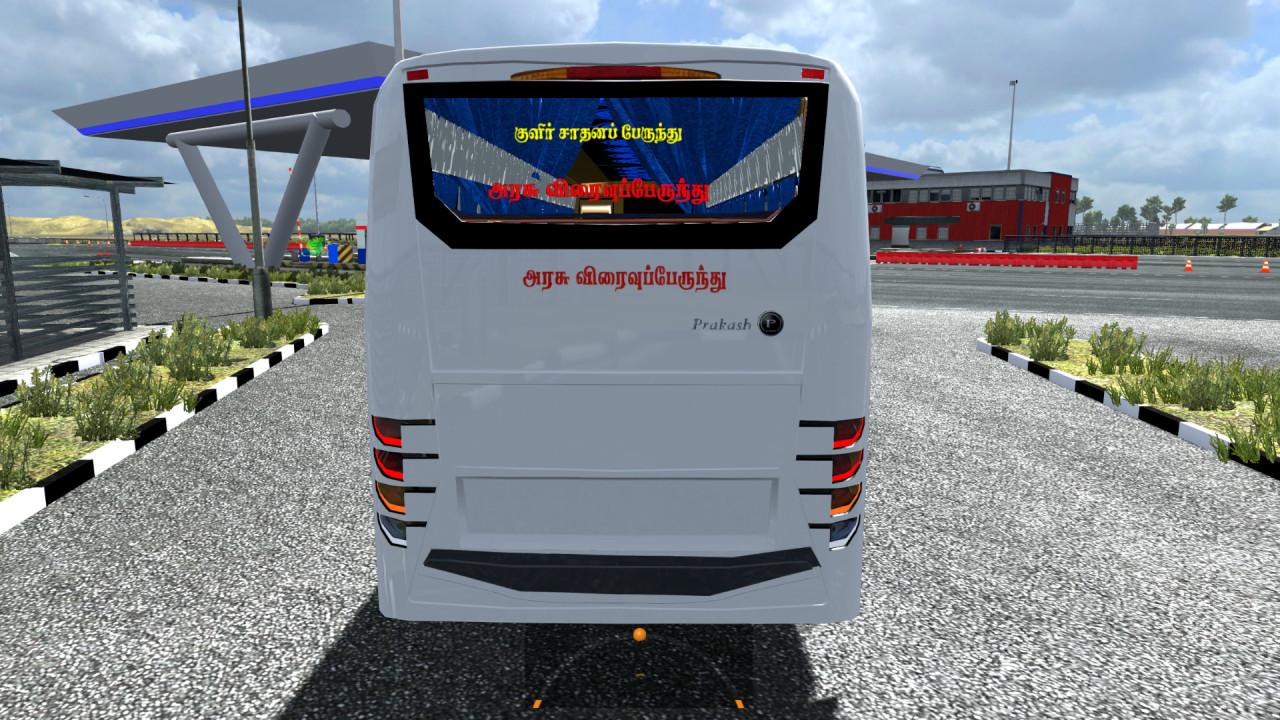 Prakash Vega Bus Mod with Indian SKins By BIJU MON 1.31 - 1.38