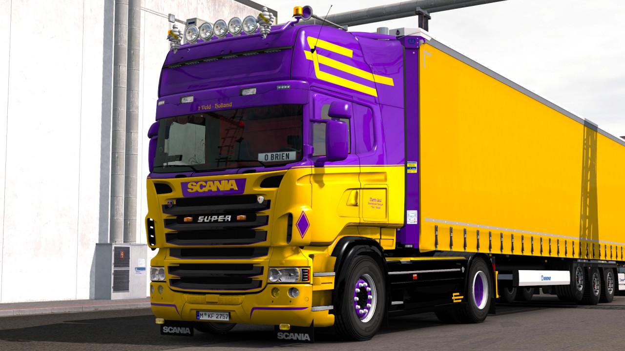 Scania R950 Konstanitidis Loud Pipe Sound