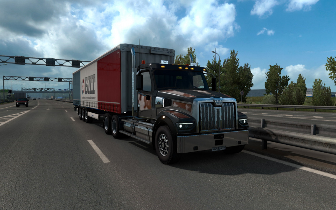Western Star 49x adaption for ETS2 1.38 and up