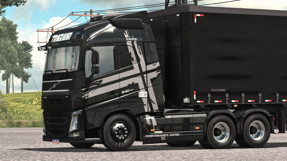 Volvo Black Performance Skin