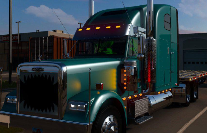 Freightliner Classic by randy-man