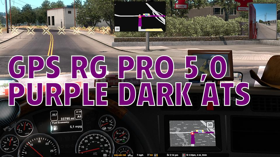GPS RG PRO PURPLE DARK ATS