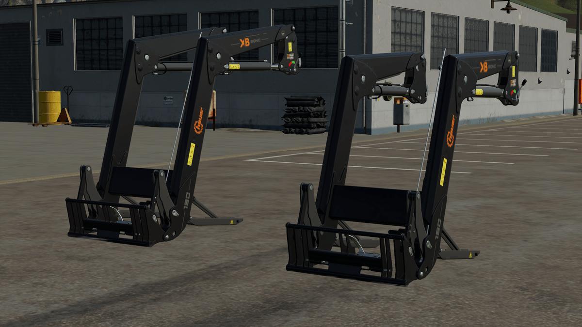 Hauer Frontlader XB150 und XB190