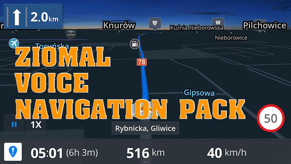 Ziomal Voice Navigation Pack