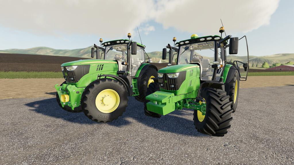 John Deere 6R Small-Medium