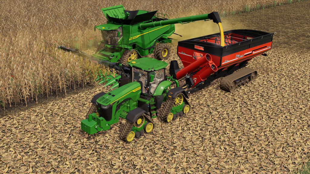 John Deere 7R,8R,8RT,8RX 2020 US-Version