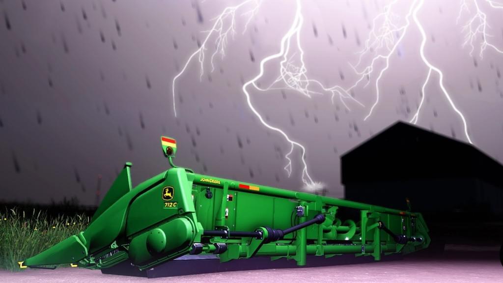John Deere Corn Headers