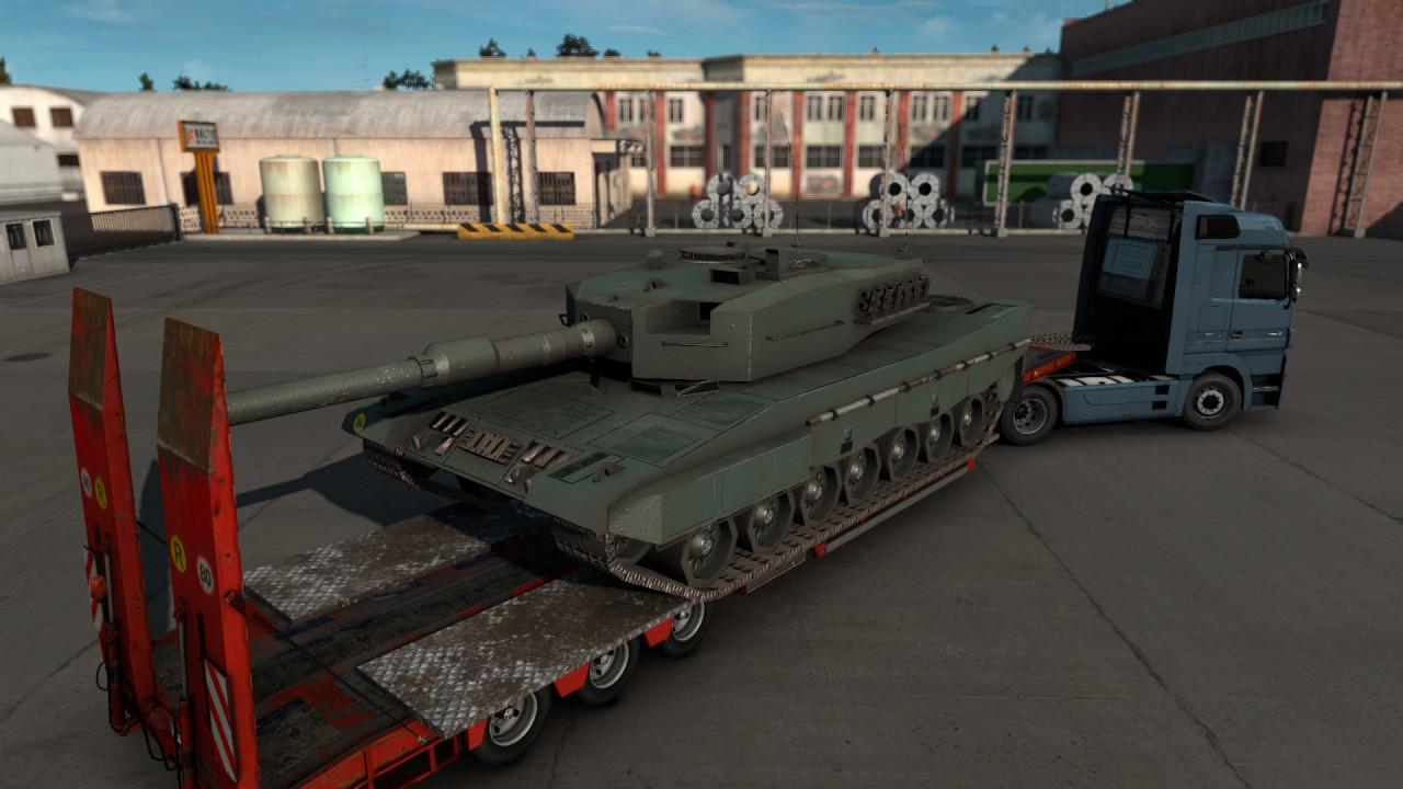 Leopard 2A4 Cargo 4K