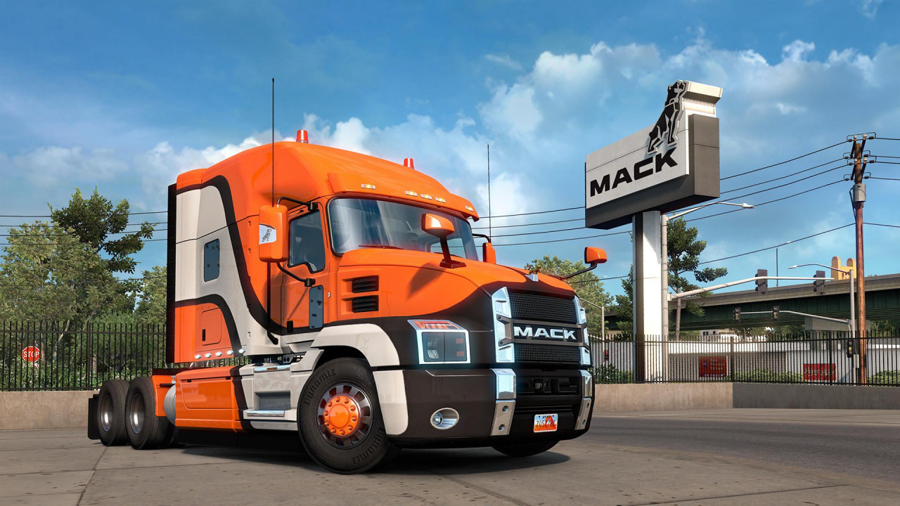 Mack Anthem SCS ETS2
