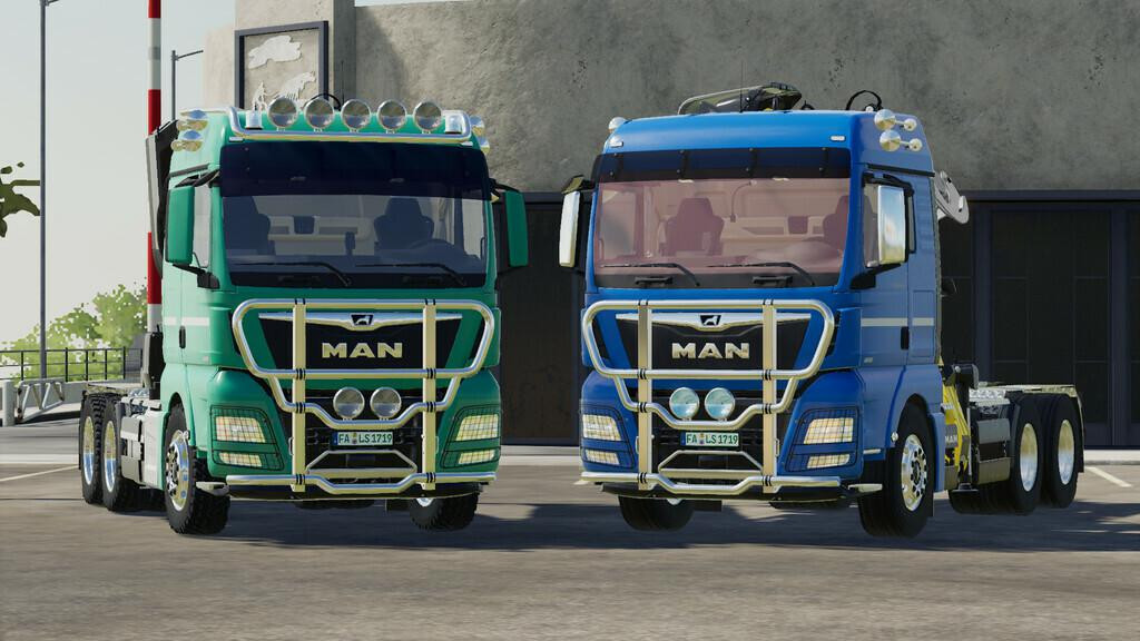 MAN TGX Forest Semitrailer Pack