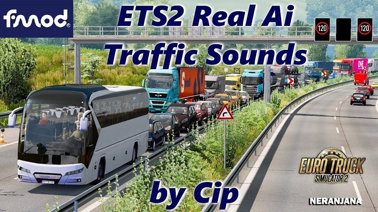 ETS2 Real Ai Traffic FMOD Sounds