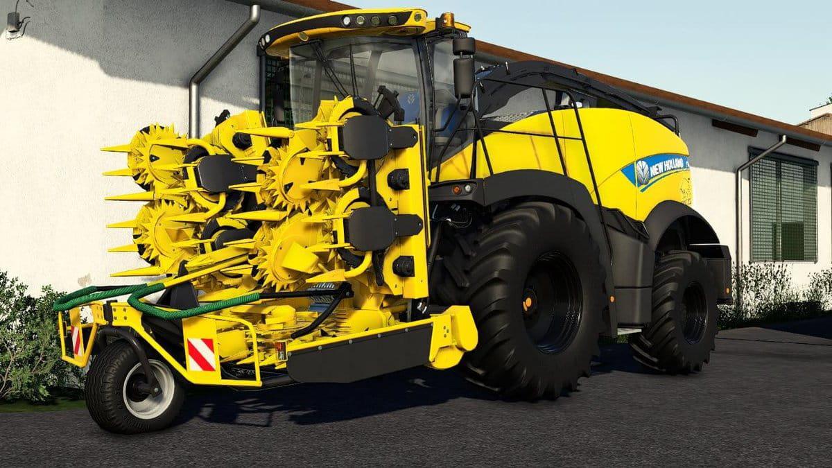 New Holland FR850 Yellow Bull