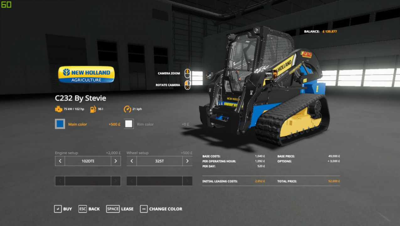 Skidsteers for FS19