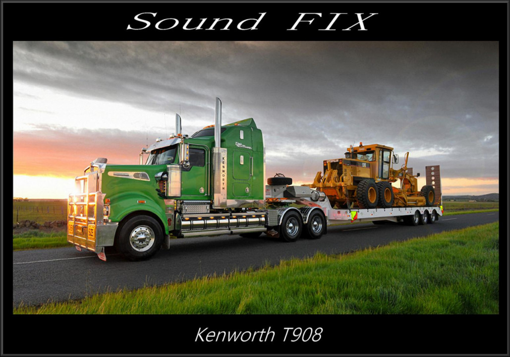Sound fix for Kenworth T908
