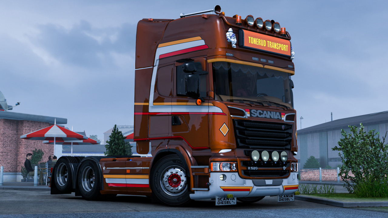 Tonerud skin for Scania R by fred